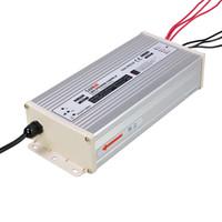 SANPU Fuente de alimentación a prueba de lluvia 5V 12V 24V 300W 350W 400W AC-DC Iluminación Transformador LED Driver IP63 Aluminio al aire libre para LEDs Tiras de luz