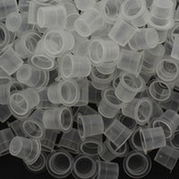 Wholesale- Free shipping 100pcs Plastic 12mm Tattoo Ink Cups ...