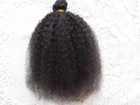brazilian bomb kinky curls hair weft human virgin remy hair ...