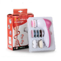 electric foot Massager cleaning Brush care tool dead skin re...