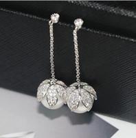 VERKAUF Modeschmuck neue 925 Silber Nadel Dreieck Ohrringe passen Pandora weiblichen Kristall von Swarovski simpl