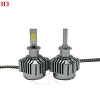 LED Araba Far Ampuller H7 H1 H3 H11 / H8 / H9 HB3 / 90 Araba LED Süper Parlak Oto Işıklar Dönüşüm Kiti