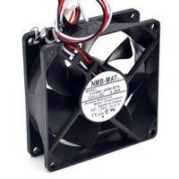 New 3110KL-04W-B79 8025 12V 0.38A NMB 80 * 80 * 80 * 25mmのための超耐久性二重玉軸受ファン