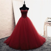 Bling Bling Sequins Beaded Strapless Crystals Bodice Prom Dress Ball Gowns Reals Puffy Evening Gowns Vestido de Festa Curto Party Dress