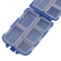 New 10 Compartments Storage Case Fly Fishing Lure Spoon Hook...