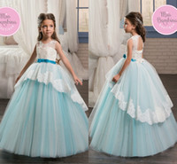 Vintage Princess Puffy Ball Gowns Girl Pageant Dresses 2017 ...