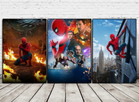 Spider- Man Homecoming , 3 Pieces Home Decor HD Printed Modern...
