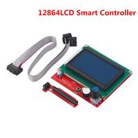 Parti della stampante 3D di Freeshipping Display LCD 12864 RAMPS 1.4 Modulo del pannello del controller intelligente per la scheda madre MKS Sbase