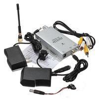 مصغرة كاميرا ملونة لاسلكية مربية كاميرا نظام الثقب للرؤية الليلية الأمن الرئيسية CCTV الكاميرا مع 1.2GHz الاستقبال