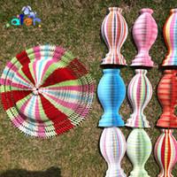 Casquette en papier vase mode d'été S forme et avec la forme de vague supérieure variété de couleurs en option couleur mixte