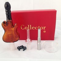 Nectar collector Guitar glass kit with guitar Glass Honeycom...