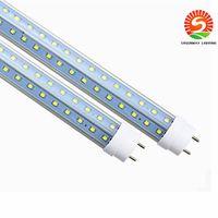 T8 LED 튜브 라이트 양쪽을 V 자형 4피트 28w 1.2M G13 LED 형광등 AC85-265V CE UL RoHS 준수 QA 도매