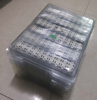 SMT CR2032 titular de pila de botón / clips / socket para pilas de botón CR2032 CR2025 (CR2032-6 ER / BS-6)