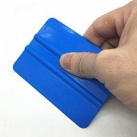 Автомобильная наклейка виниловая пленка PP пластиковая упаковка инструменты пластиковые PP Ракель 12,5 см*8 см 200 шт./лот (DY)