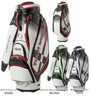 HONMA golf bag men high grand PU Leather golf caddy bag 3 co...