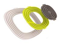 20sets / lot 3 Pcs / Set Silicone Cool Outil Protecteurs de Surface Tapis Isolant Pot Porte Tasse Tapis Pad Placemats Cuisine Gadgets