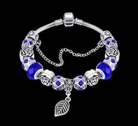 20CM 50G European Authentic Jewelry 925 Silver Plated Beads ...
