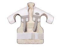 Cuidados de saúde massageador vibrador multifuncional aquecimento infravermelho distante ombro cintura cintura e massageador de cuidados com as costas elitzia ethye102