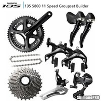 shimano 105 5800 11 speed groupset 2 * 11 22 speed of bicycl...