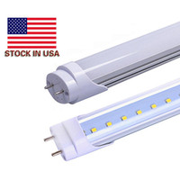 4ft LED DLC Indoor Bright 25pcs / lot 85V-265V 22 Watt 4 Foot T8 Led Tube Lights Fluorescente Sportivo UL approvato, bianco neutro