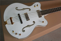 Custom G6136LSB White Falcon 4 Strings JAZZ Electric Bass Gu...