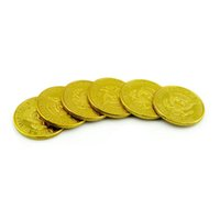 50pcs Half Dollar gold Coin Magic Tricks magic Accessories c...