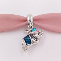 Authentic 925 Sterling Silver Beads Flying Dumbo Charms Fits...