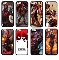 3D Design Deadpool Case For iphone 6 6s 7 6 7 plus 6s plus T...