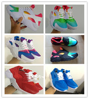 2017 New Huarache Running Shoes Huaraches Rainbow Ultra Brea...