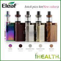 Nuovi colori! Eleaf iStick Pico Starter Kit 75w iStick Pico Mod aggiornabile con 4.0 ml Melo III 2.0ml Melo III Mini serbatoio