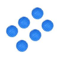 Blaue Waschtrocknerkugeln Macht die Wäsche sauberer Weich macht die Stoffe Waschtrockner Waschkugeln Stoff