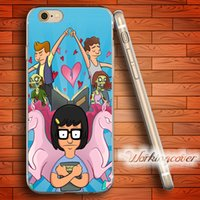 Fundas Bobs Burgers Tina Belcher Soft Clear TPU Case for iPh...