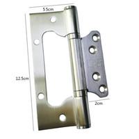 3cm door hinge stainless steel furniture hinge wall mount glass shower bathroom wholesale high quality hardware