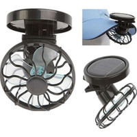 Solar Powered Portable Clip on Hat Desk Solar Cell Fan Sun P...