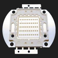 10W / 20W / 30W / 50W / 100W UV-LED-Lampe Purple Floodlights 365-370NM Epileds 45mil-Chip Freies Verschiffen 1 STÜCKE