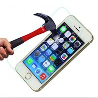 Temperli Cam Filmi Ekran Koruyucu Için iPhone 4 4 s 5 5 S 6 6 S 7 artı Samsung Galaxy S2 S3 S4 S5 S6 Kenar S7 Not 3 4 5 G530 A310 A510 A710