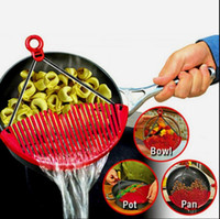 Better Strainer Large Expandable Strainer Lock on Sieve Cola...