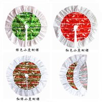 Christmas Tree Skirt Deer Pattern Cloth New Year Christmas T...