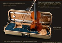 Carved Sculpture Series Handmade Spruce Wood Violin Musical ...