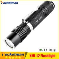 3800LM CREE L2 Penlight Torch Light Mini Tactical Led Torch ...