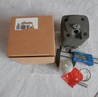 G4100 Zylindersatz passend für Zenoah Komatsu SUMO SML348 37.2CC 41CC 2-Takt Kettensäge Zylinder mit Kolbenringsatz