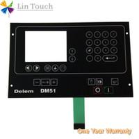 NEU DELEM DM-51 DM51 DM 51 HMI-SPS Folientastatur mit Folientastatur Zum Reparieren der Maschine über die Tastatur