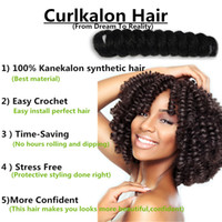 KANEKALON TWIST MARLEY TWIST SYNTHETIC HAIR EXTENSIONS BOUNC...