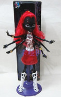 2017 NEW boneca 괴물 hight 인형 아기 인형 장난감 괴물 높은 인형 Wydowna 거미 Webarella 여자 어린이를위한 최고의 선물로