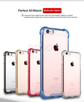 Soft TPU Side PC Bumper Back Transparent Acrylic Case Hybrid Armor Cases Cover For iPhone 11 pro max X 8 7 6S Plus Samsung Note 8 S8 S9 Plus