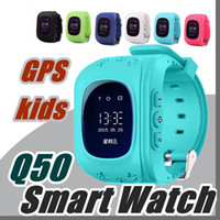 10X Q50 Kids Smart Watch GPS LBS Double Location Safe Childr...