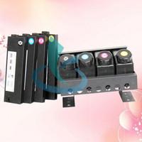 고품질 평판 형 UV 프린터 예비 부품 CISS Bulk 잉크 시스템 4 + 4 for Mimaki JV3 / JV33 / JV5 / Roland FH740 Wit-color 플로터