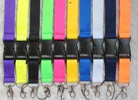 Оптовые клеточные ремни привесы сплошные цветные вставные пряжки телефон ремешок моды ключей шеи канатная веревка 649