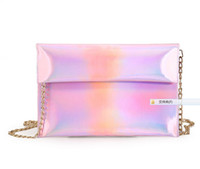 5pcs lot Pink Silver Holographic Hologram Purse Pouch Cross ...