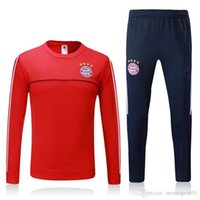 Top quality 2017 2018 New Munich soccer tracksuit 17 18 Muni...